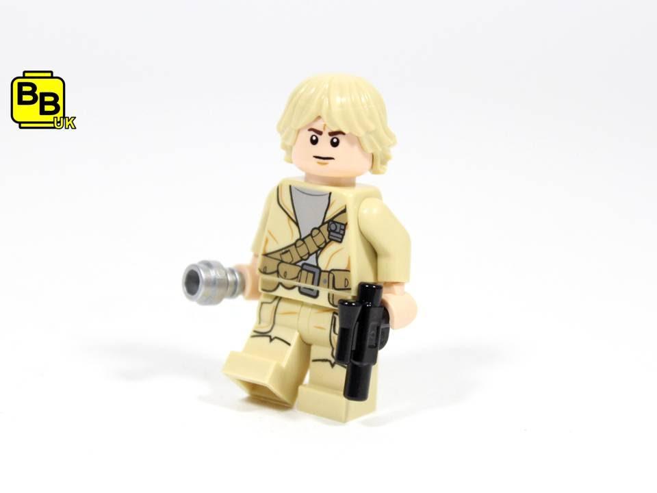 Lego Star Wars Cloud City Luke Skywalker Minifigure Creation Review