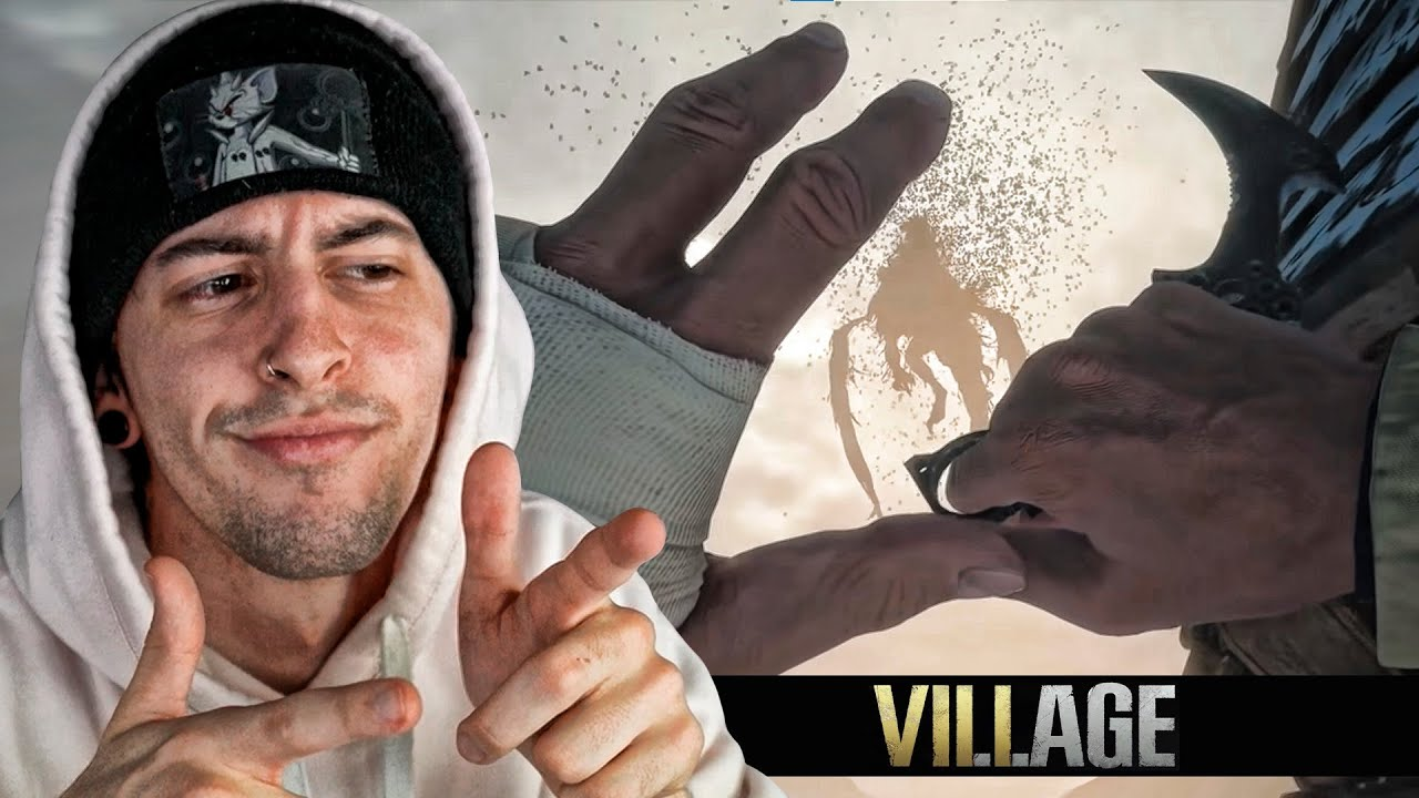 Resident Evil 8 (Village) PERO SOLO A CUCHILLO | Robleis