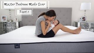 Master Bedroom Make-Over Part 1 I Home Series
