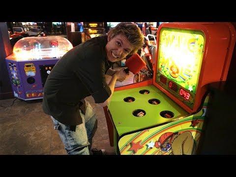 Having Fun at a NEW Arcade!