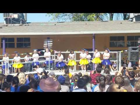 Summit Charter Academy Rally UC Davis Aggies Rally Catherine Manix.