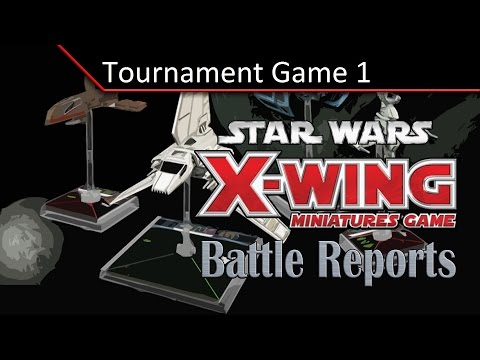 TBMC - X-Wing Battle Report - 100 Point - Tournament Game 1