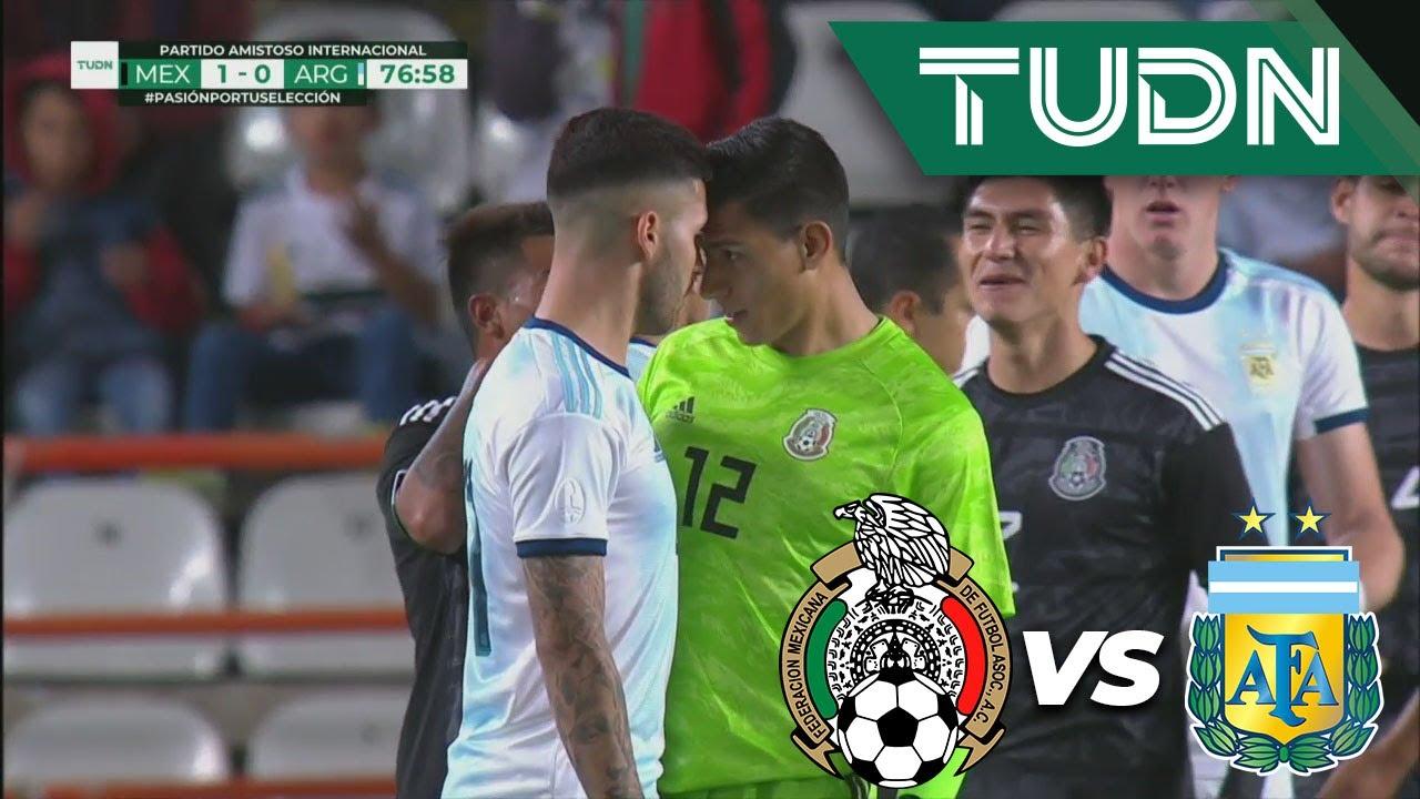 Download ¡Otra vez! ¡Se arma la bronca! | México  1 - 0 Argentina | Amistosos - Internacional | TUDN