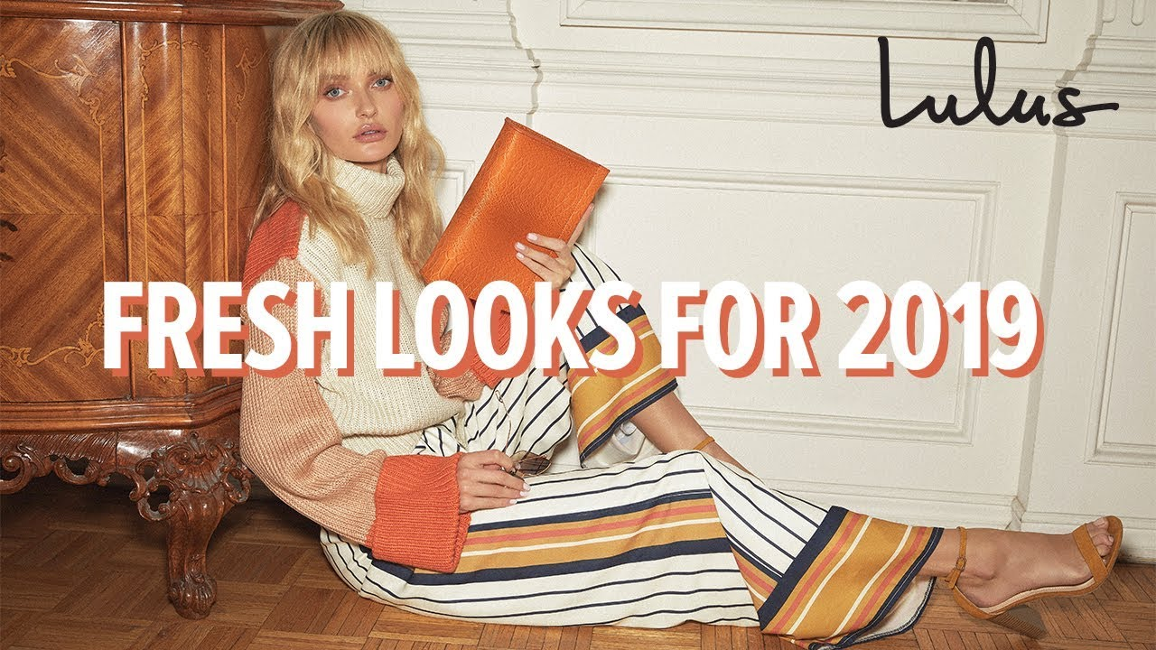 [VIDEO] - Look Fresh with Lulus | Spring Fashion 2019 5