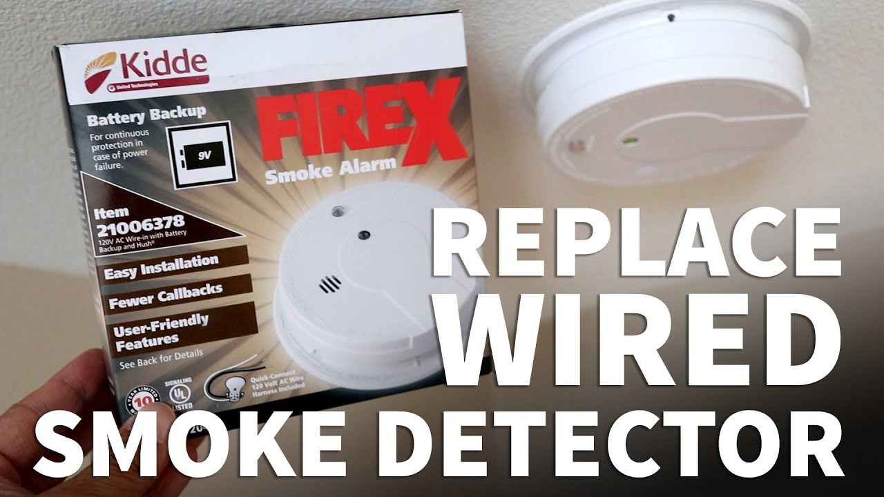 How To Replace Hardwired Smoke Detector Safely Update Your Smoke