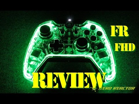 review manette afterglow prismatic xbox one pc fr youtube. Black Bedroom Furniture Sets. Home Design Ideas