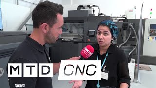 Maryam Qureshi talks about 3D Printing at a recent XYZ Open Day