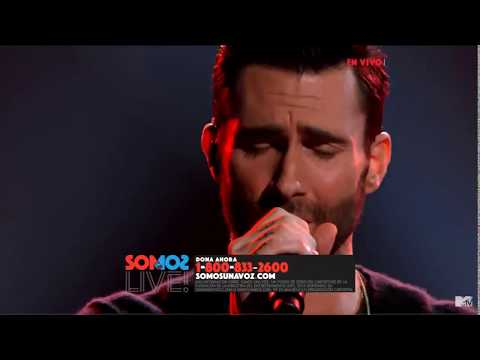 Maroon 5  -  She Will Be Loved (Live At One Voice 2017)