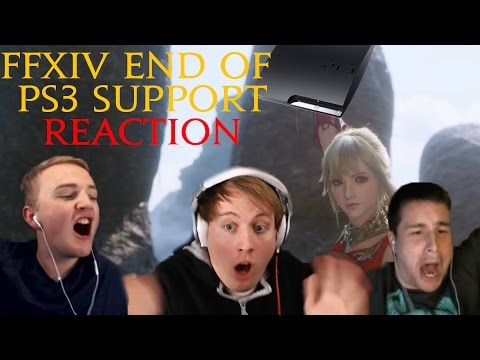 End of FFXIV PS3 Support LIVE Reaction