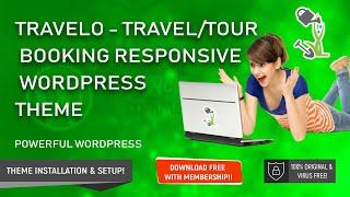 Travelo Wordpress Theme Review & Demo | Travel/Tour Booking Responsive WordPress Theme | Travelo Price & How to Install