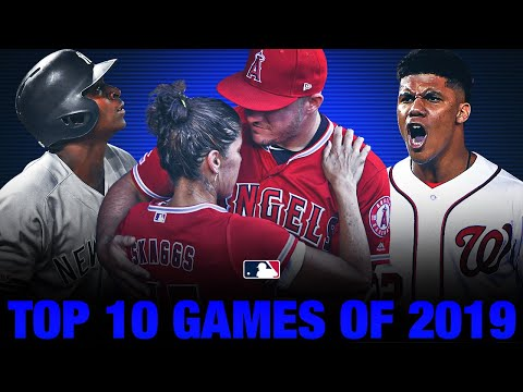 Download Top 10 Games of the 2019 MLB Season!