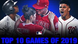 Top 10 Games of the 2019 MLB Season!
