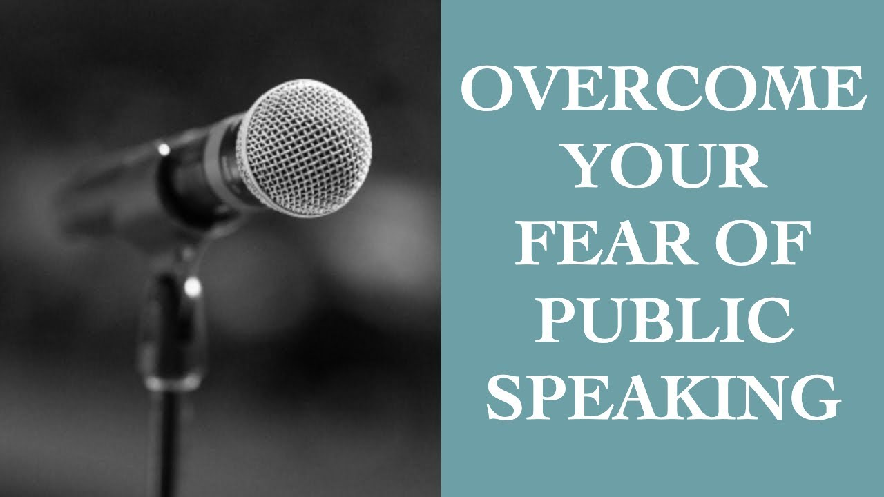 how to overcome fear of public speaking pdf