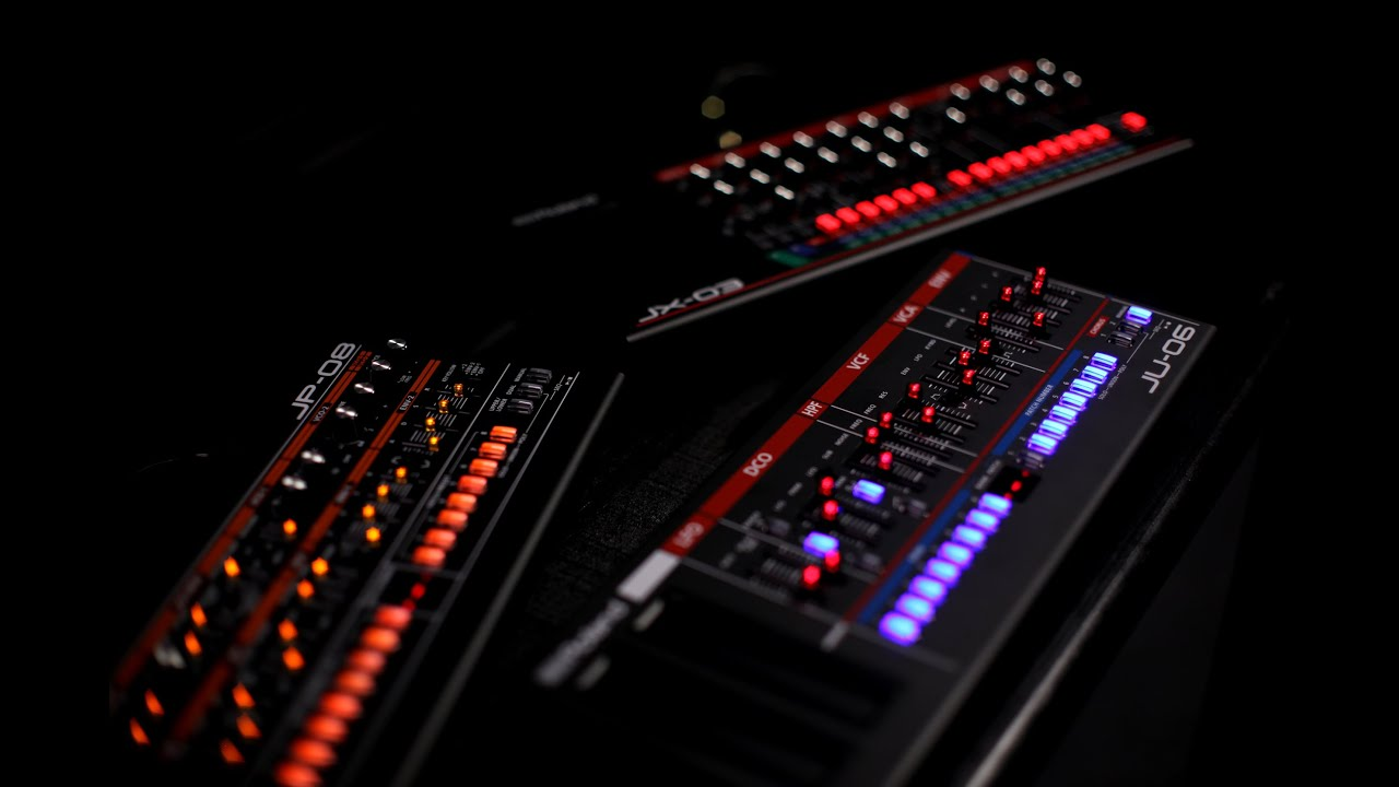 roland boutique series overview with synth modules jp 08 ju 06 jx 03 youtube. Black Bedroom Furniture Sets. Home Design Ideas