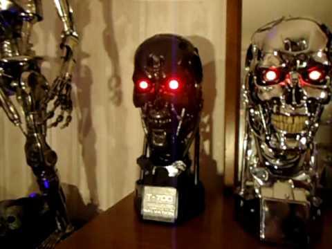 T 700 Terminator Sideshow Terminator Salvation, Terminator T-700 Life Size Bust Review ...