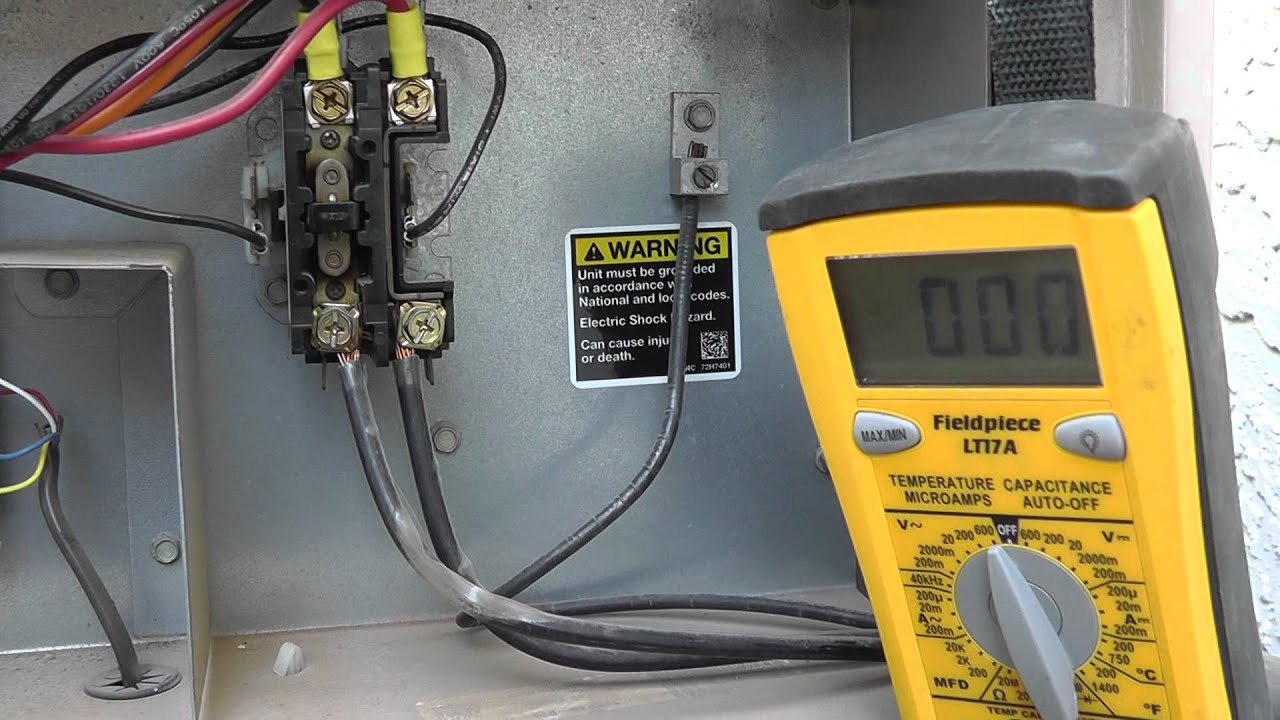Testing Phoenix Az A C Unit At The Contactor By Pushing