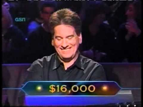 Joe Roberts on Who Wants to be a Millionaire