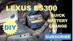 How to replace the Battery on Lexuse ES300