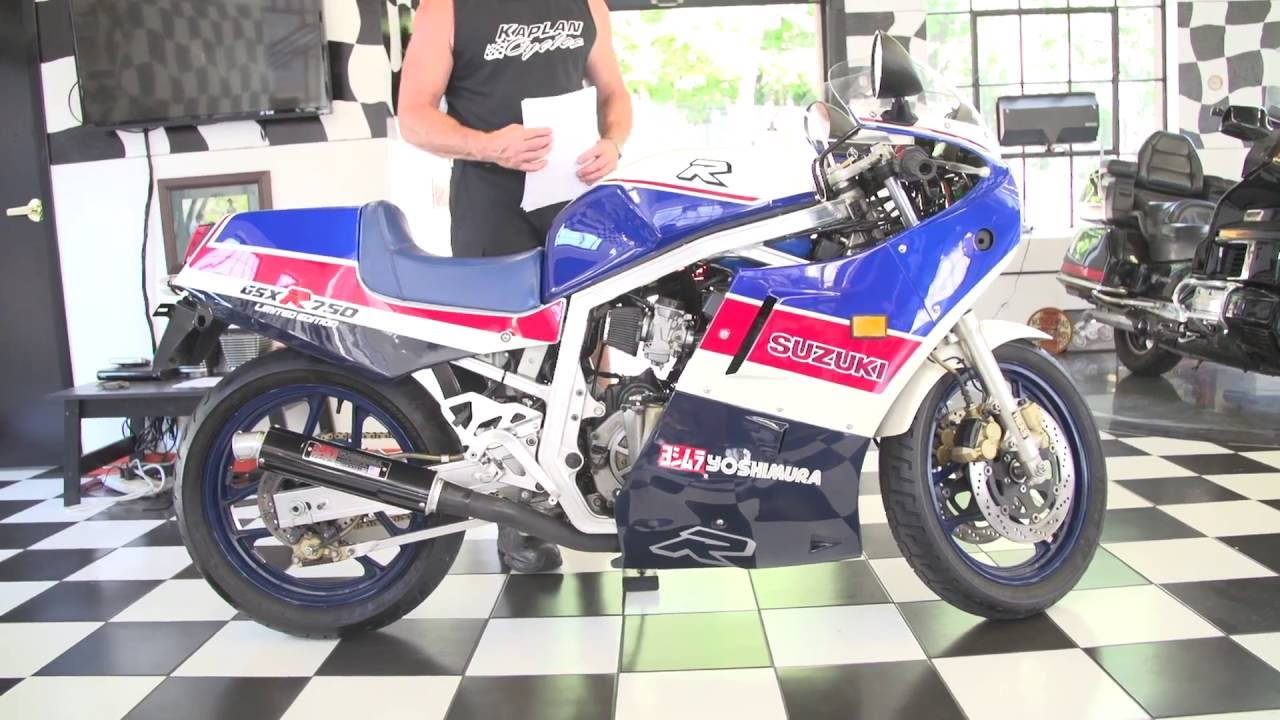 1986 Suzuki GSXR 750 LIMITED EDITION! | 1/199 ONLY A HANDFUL IN EXISTENCE!  | Kaplan Cycles