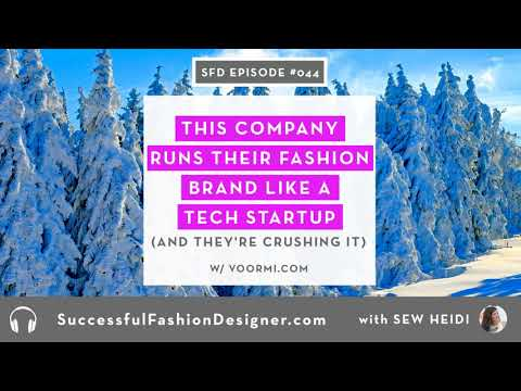 SFD044: This Company Runs their Fashion Brand like a Tech Startup (and they're crushing it)