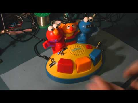Circuit Bent Sesame Street Elmo's Giggle Gang Piano By Freeform Delusion
