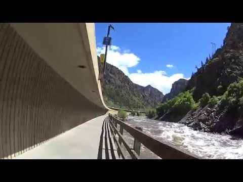 Glenwood Canyon Bike Path Eastbound