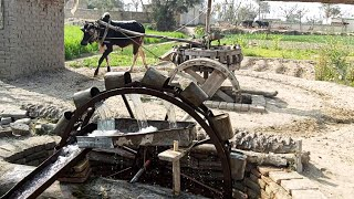 Rahat ||Old Irrigation System in Punjab Villages Before Early 90,s|Persian Wheel Irrigation Method