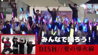 DISH// 『愛の導火線』みんなで踊ろう!