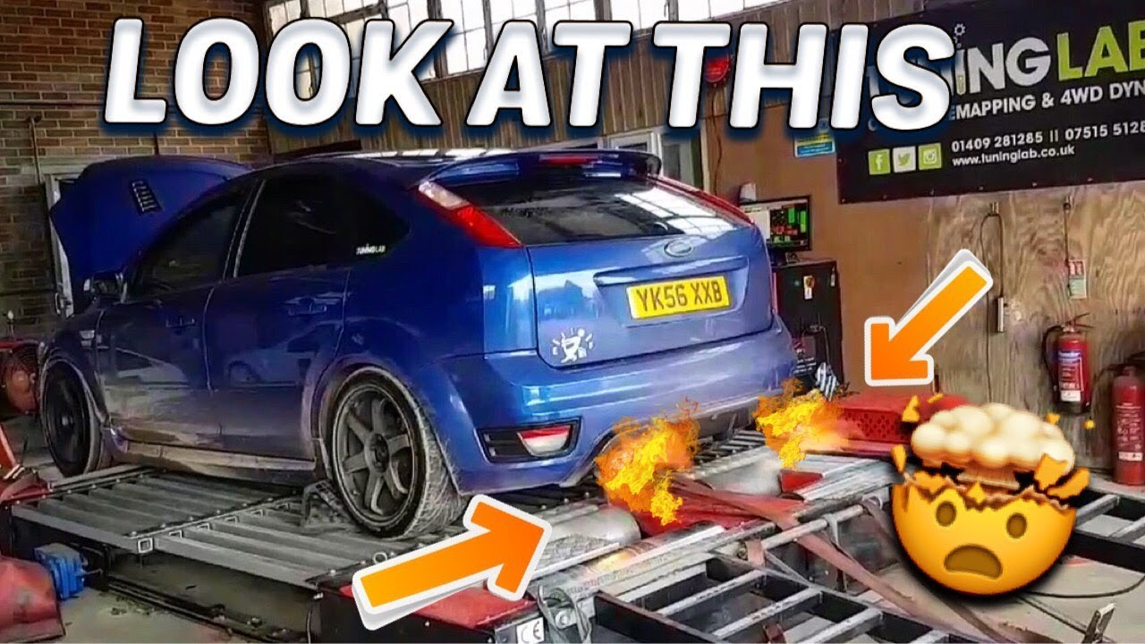 INSANE Ford Focus ST ANTI LAG | 2 STEP - TUNING LAB MAP NOW AVAILABLE!!