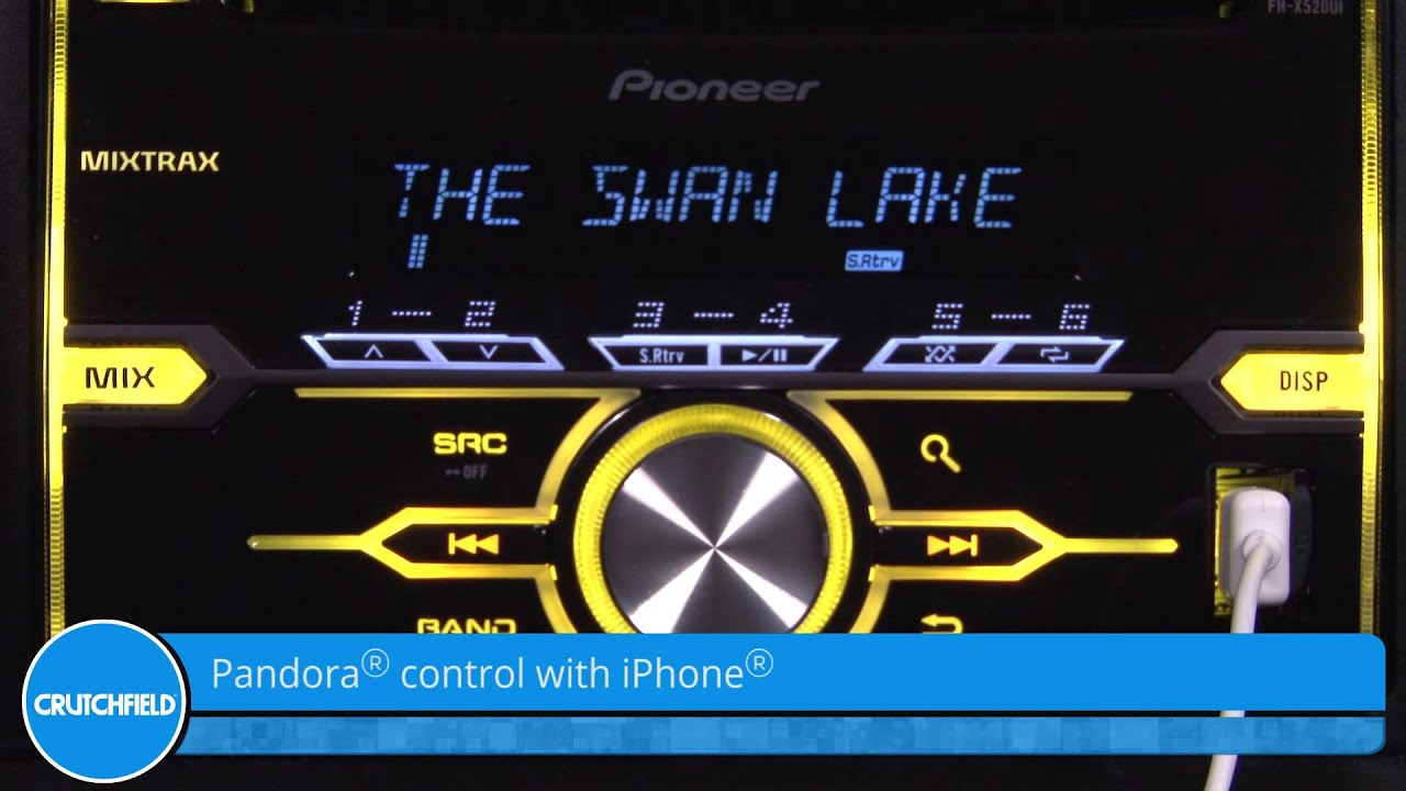 pioneer fh x520ui display and controls demo crutchfield video rh youtube com