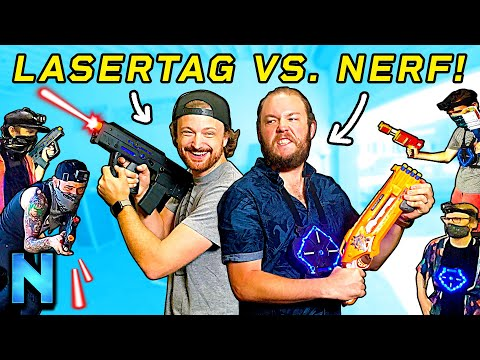 Can Nerf Beat LASERS?