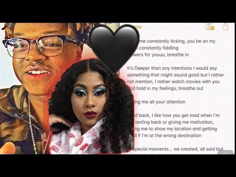 I wrote this Song/Poem for my Girlfriend | 🖤😏