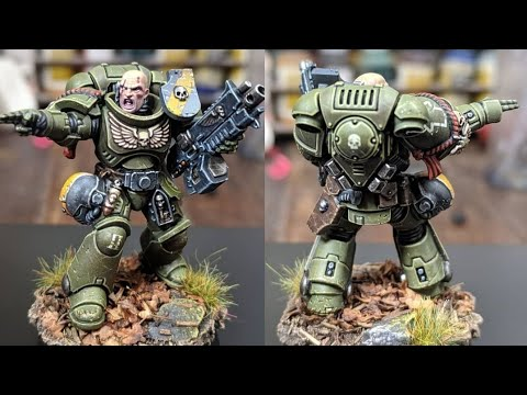 Golden Demon Finalist Pins and Contrast Paints - WIP 15-05-19