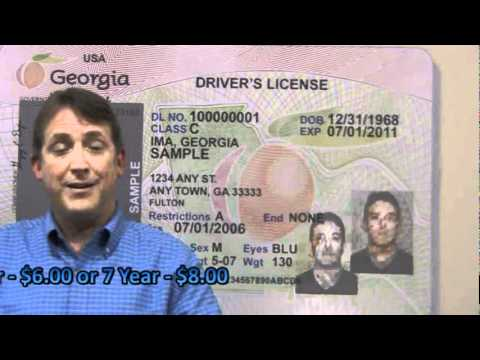 ga dds check your points and order a certified driving history from