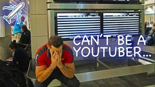 THE LIFE OF A FLIGHT ATTENDANT Ep.11 | CAN'T BE A YOUTUBER (EMOTIONAL) | VLOGMAS DAY 3