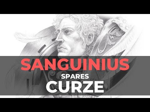 SANGUINIUS SPARES KONRAD CURZE - Warhammer 30k