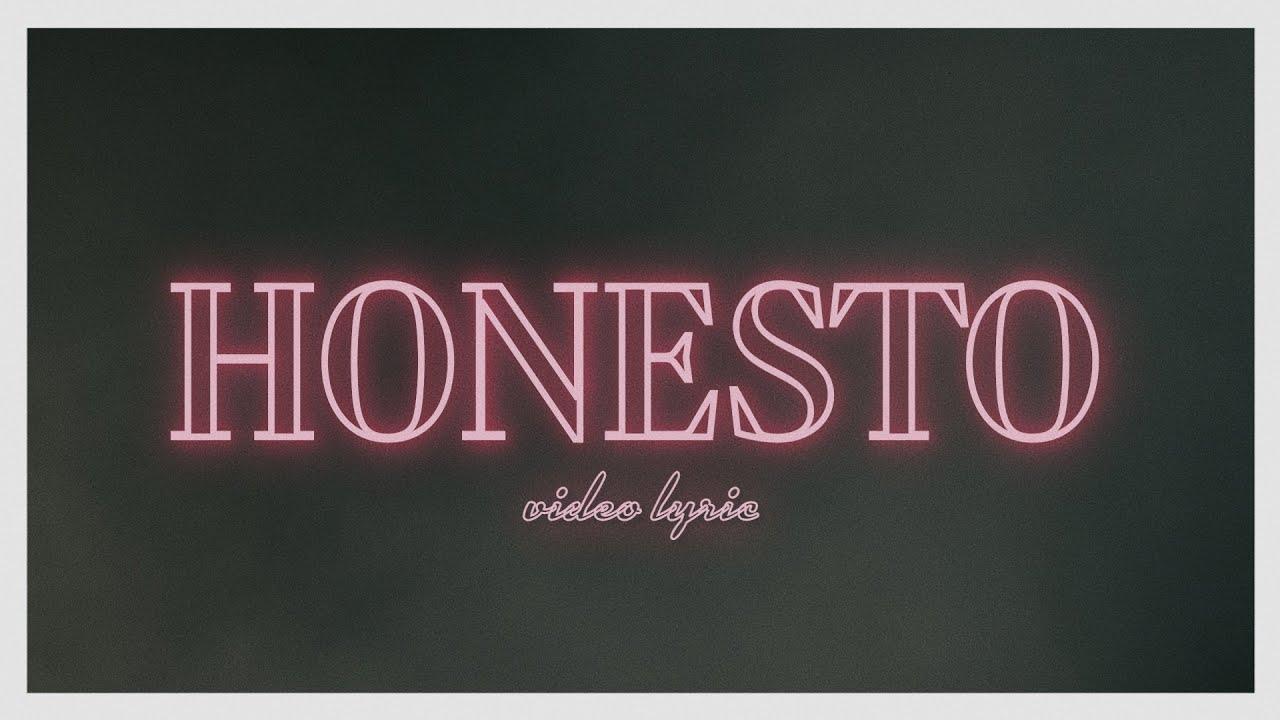 Un Corazón - Honesto (Lyric Video Oficial)