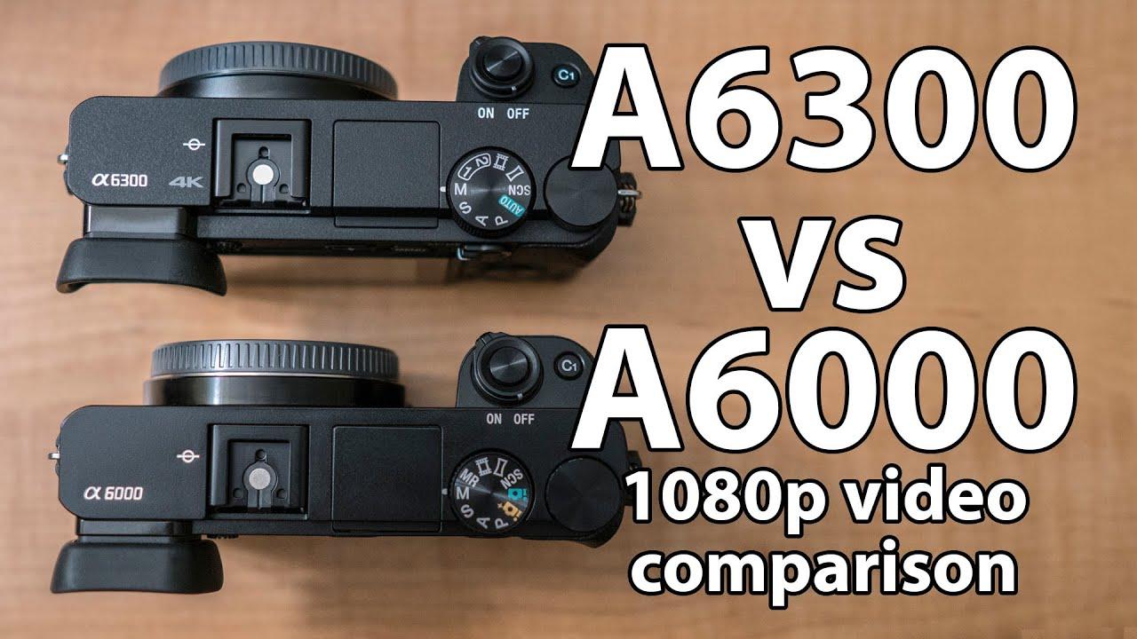 Kết quả hình ảnh cho a6300 vs a6000