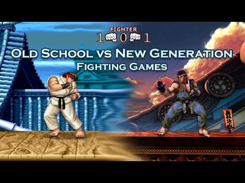 The fighting game community - Old school versus the new generation
