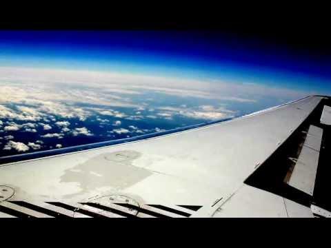 Jetliner cruising at 20K feet.