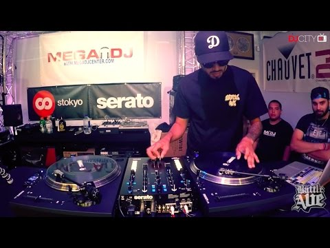 DJ Manwell Performs on Battle Ave and DJcity's 'At the Ave Tour'