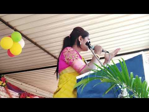Veena kashappanavar speech @ jnv bagalkot annual sports meet
