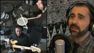 Black Hole Sun - Soundgarden cover ( guitar drum acoustic live ) by The Suburb indie