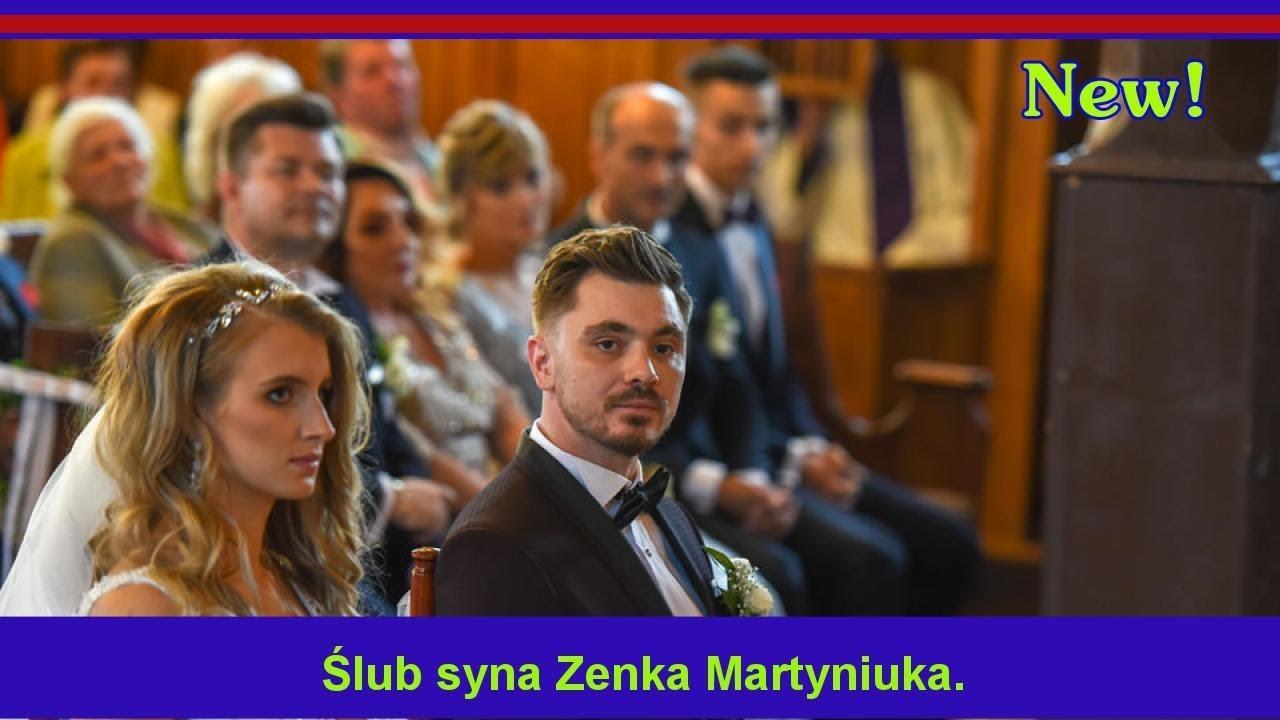 ślub Syna Zenka Martyniuka Youtube