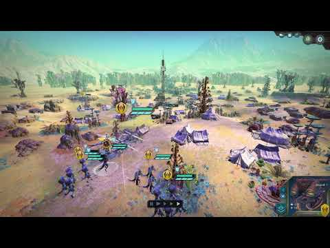 Age of Wonders Planetfall INSECT first start  
