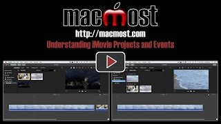 Understanding iMovie Projects and Events (#1226)