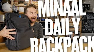 Minaal Daily Backpack Review (Minimal Daily Carry)