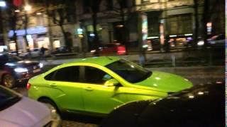 Lada Vesta Lime in Saint-Petersburg / в Санкт-Петербурге