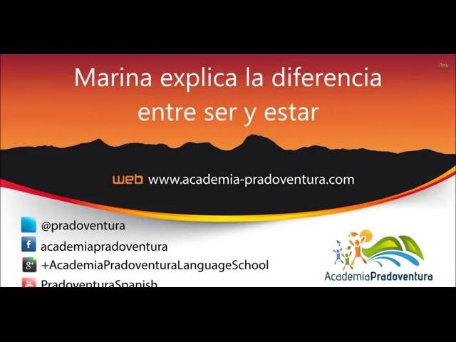 Spanische Grammatik: Unterschied zwischen ser und estar ...