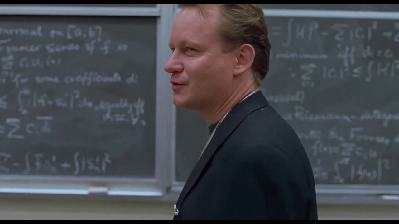Download Good Will Hunting First Maths Problem Fourier System - Good Will Hunting (1997) Movie Clip HD Scene